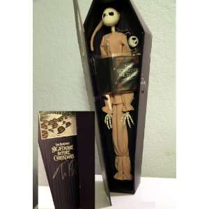 Jack Skellington Collection Doll N 010 Signed By Tim Burton