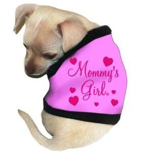 Mommys Girl Dog Tank in Pink Size See Chart Below: X