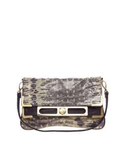 Fiorelli  Fiorelli Astor Mock Lizard Clutch Bag at ASOS