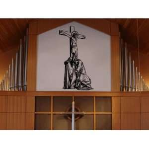 Jesus on the Cross Wall Art Decal Sticker