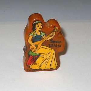 Vintage1930 Disney Snow White Bakelite Pencil Sharpener