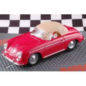 Analog Slot Cars   Classic   Porsche 356   Red (50567) Toys & Games