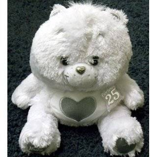Find Care Bears 25th Anniversary 11 White Care Bear with Heart Symbol