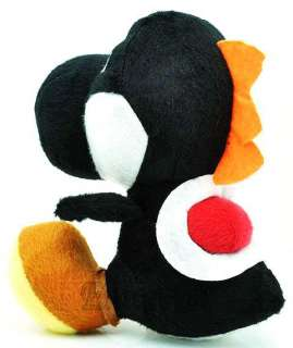 New Super Mario Bros black YOSHI Plush Doll^MT106