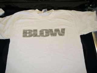BLOW Movie Promo T Shirt Large Shirt Johnny Depp