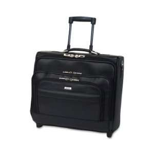 Solo Dual Entry Rolling Notebook Overnighter Case   Black