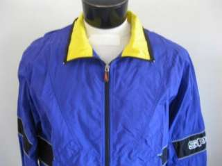 MENS Vintage Speedo Sport Systems Windbreaker Jacket M