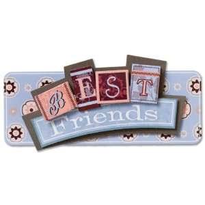 Karen Foster 3 D Title Sticker   Best Friends Arts, Crafts & Sewing