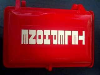 ALLEN TEL EXTERIOR TELEPHONE ENCLOSURE RED   METAL