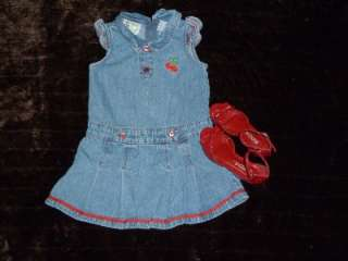 Girl Toddler Baby Clothes Lot   Size 3T 4T Spring/Summer Tees, Shoes