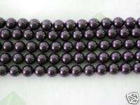 100 Dark Purple Swarovski Crystal Beads Pearls 5810 4mm