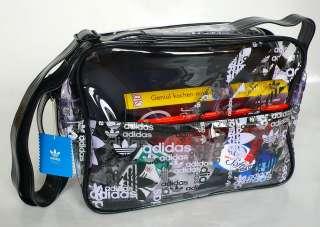 Adidas Retro Clear Airliner Messenger Bag Tasche NEU