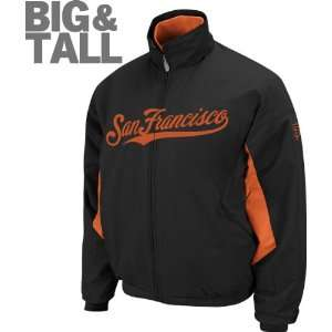 San Francisco Giants Big & Tall Authentic Collection Black