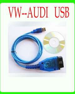 OBD2 USB Cable Scan VW SEAT Volkswagen Tool Audi Auto Scanner