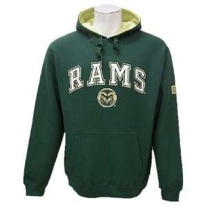 State Rams Mens Team Color Automatic Fleece Hoodie: Sports & Outdoors