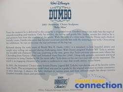 WDCC Animators Choice MRS JUMBO & DUMBO Baby Mine Member HONOR Figure
