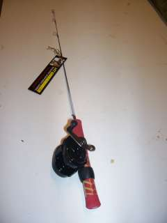 CLOSE OUT 26 ULTRA LIGHT ICE FISHING ROD W/ BAIT CAST REEL WOW