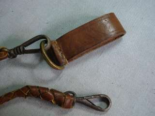 WWI WWII ORIGINAL LEATHER LANYARD FOR LUGER P08 PISTOL