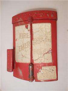 Vintage Western Electric Fire Police Emergency Call Box Phone Gamewell