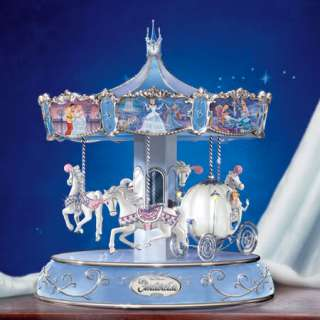 Bradford Disney   Cinderellas Enchanted Journey Carousel