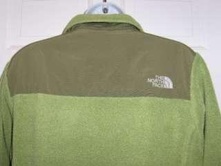 THE NORTH FACE Womens SPRING Green Olive DENALI Fleece JACKET Coat M