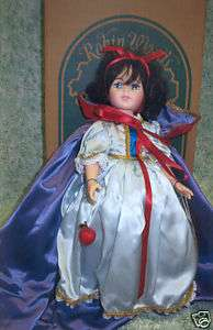 Robin Woods Snow White vinyl doll MIB, 1990