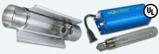 GROW LIGHT DIGITAL BALLAST 6 STANDARD AIR COOLED TUBE KIT H027