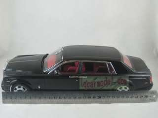 18 Rolls Royce Phantom black New in box Limited 999 pcs Metal Die