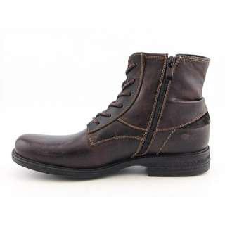 Steve Madden Rayge Mens SZ 11 Brown Boots Ankle Shoes