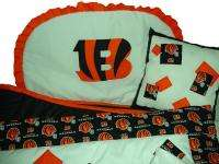 Baby Nursery Crib Bedding Set w/Detroit Tigers fabric