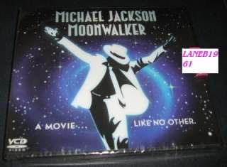 MICHAEL JACKSON MOONWALKER ORIGINAL VCD DVD 4800627054075