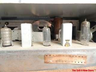 VINTAGE HALLICRAFTERS S 120 AM SW SHORT WAVE RADIO HAM RECEIVER VAC