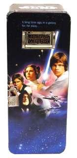 Star Wars   A New Hope   Lock & Key Foot Locker Tin Box
