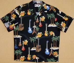 NEW RJC BRAND ROCK N ROLL BEACH HAWAIIAN SHIRT S 3X NEW