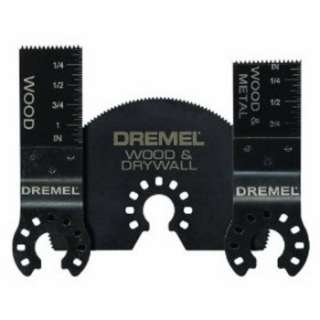 Dremel Multi Max 3 Piece Cutting Assortment Pack MM491 NEW