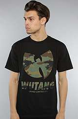 Wutang Brand Limited The WBL Camo Tee in Black