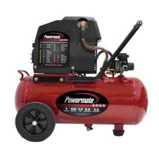 Powermate 7 Gal. Electric Air Compressor With Extra Value Kit