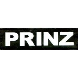 PRINZ 2xLogos klein weiß/reflektierend für Julius K9® / Logo