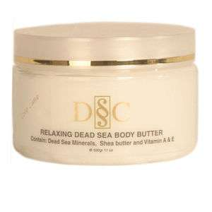 Deep Dead Sea Cosmetic Relaxing Body Butter Lavender 839901004325