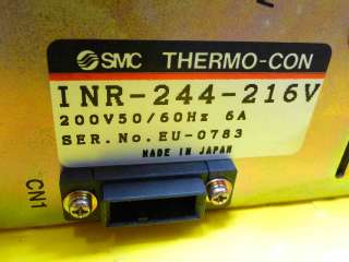 SMC Thermo Con Power Supply INR 244 216V working