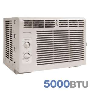 Frigidaire FRA052XT7 Window Mounted Mini Room Air Conditioner   5,000