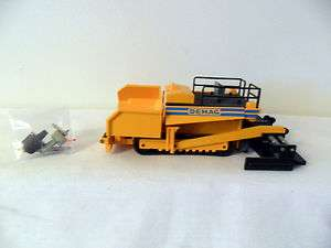 VERY RARE NZG DEMAG TRACKED ROAD PAVER 1/50
