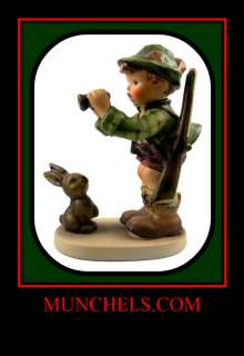 HUMMEL GOOD HUNTING FIGURINE   #307 TMK 6