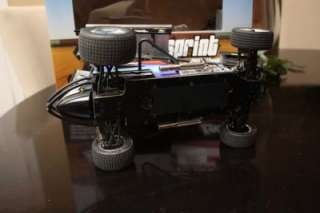 Losi Mini T Sprint car, Spektrum DX2e, Charger & 7.4v Battery With
