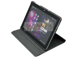 360° Leather Cover Case Samsung Galaxy Tab 10.1 P7500 Black