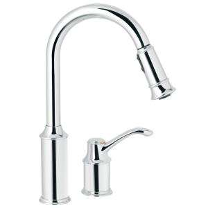 Single Handle Single Spray Tub and Shower Faucet with Stops in Chrome