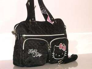 NEW HELLO KITTY HAND BAG SHOULDER BAG PURSE HL 177033B