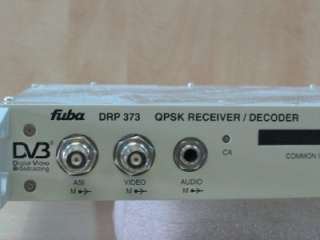 Fuba DRP 373 DRP 373 QPSK RECEIVER / DECODER DV3 ASI
