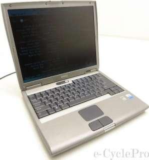 Dell Latitude D500 Laptop  Pentium M 1.3GHz  400MHz  40GB 4200RPM