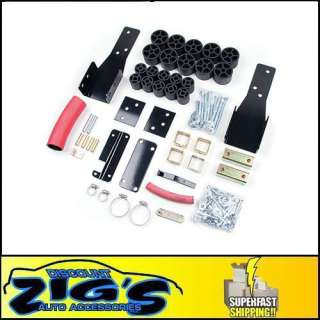 zone offroad products 2 body lift kit applications 1998 2004 chevy gmc